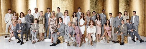 People's 50th Anniversary Cast Photo