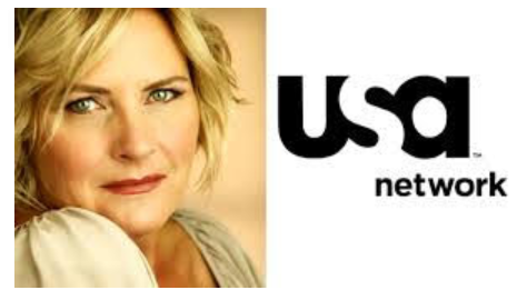 Denise Crosby photo and USA Network logo