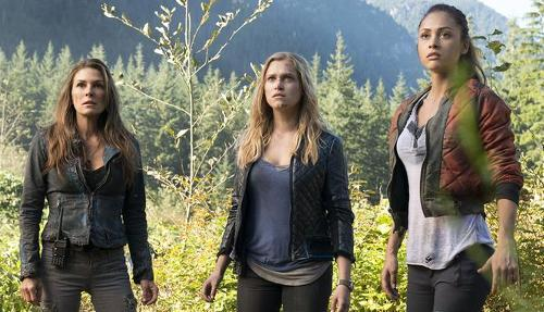 ladies of The 100