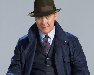 Spader as Red in The Blacklist