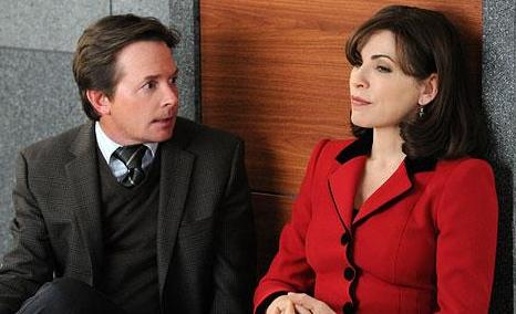 Michael J. Fox and Julianna Margulies
