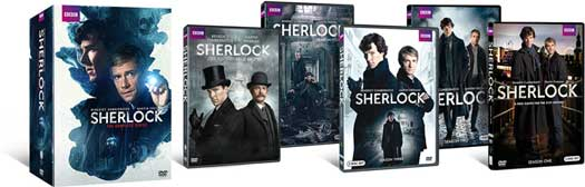 Sherlock - The Complete Series