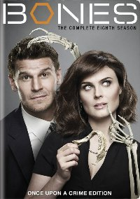 Bones The Complete Eighth Season DVD cover