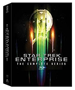 Star Trek: Enterprise Complete Series Blu-Ray cover