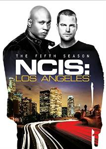 NCIS: Los Angeles The Fifth Season DVD cover