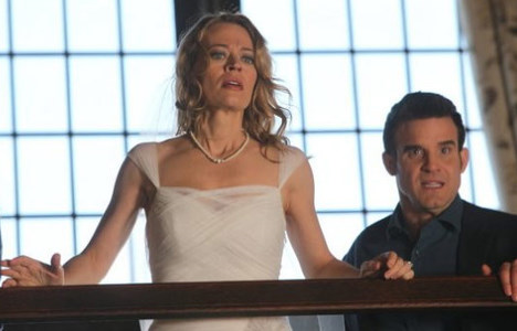 "Jeri Ryan and Eddie McClintock on ""Warehouse 13"""