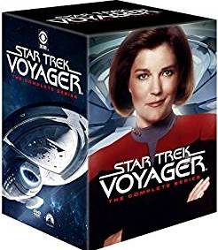Star Trek: Voyager Complete Series DVD cover